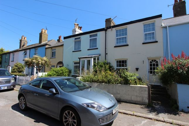 Thumbnail Terraced house to rent in Cheriton Place, Walmer