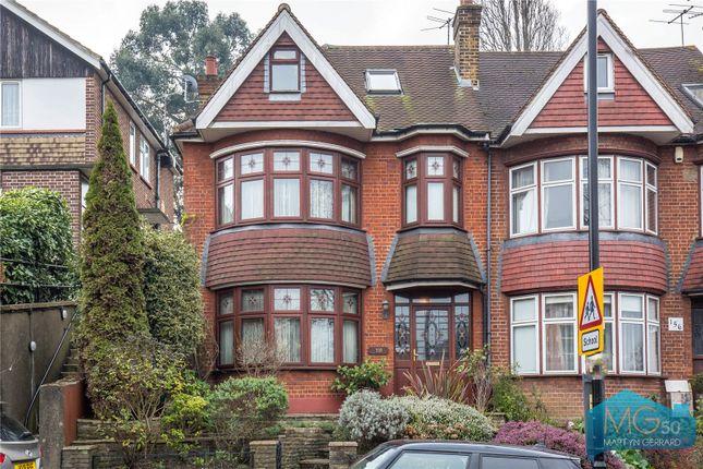 Thumbnail Semi-detached house for sale in Alexandra Park Road, Alexandra Palace, London