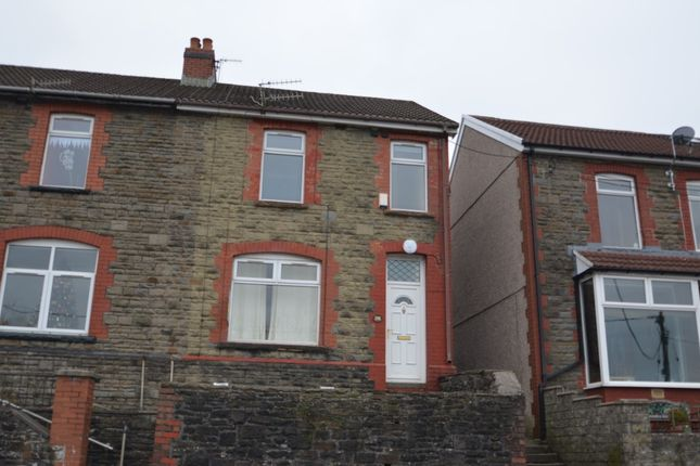 3 bed terraced house to rent in High Street, Abertridwr CF83