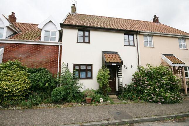 Thumbnail Terraced house for sale in Chapel Street, New Buckenham, Norwich