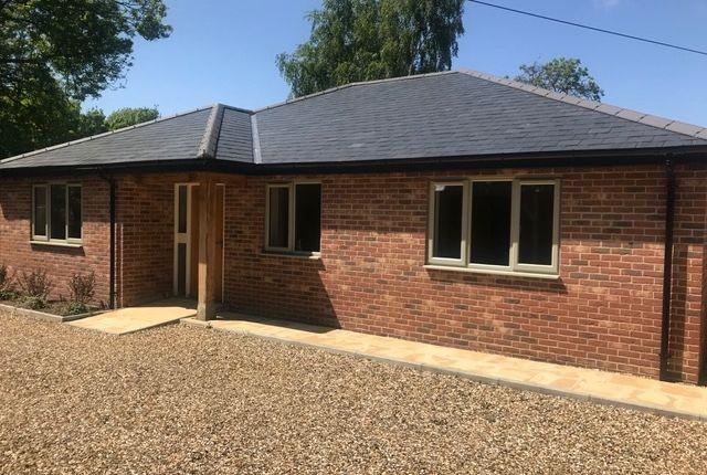 Thumbnail Detached bungalow for sale in Heath Road, Woolpit, Bury St. Edmunds