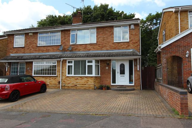 Semi-detached house for sale in Neptune Drive, The Planets, Hemel Hempstead