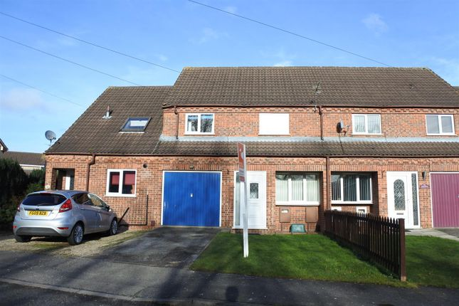 Thumbnail Terraced house for sale in Bramblewood Close, Gonerby Hill Foot, Grantham