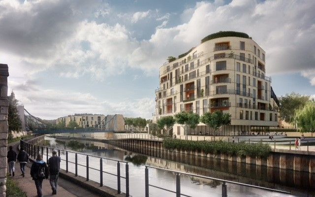 "Thumbnail Flat for sale in ""Royal View Penthouses"" at Victoria Bridge Road, Bath"