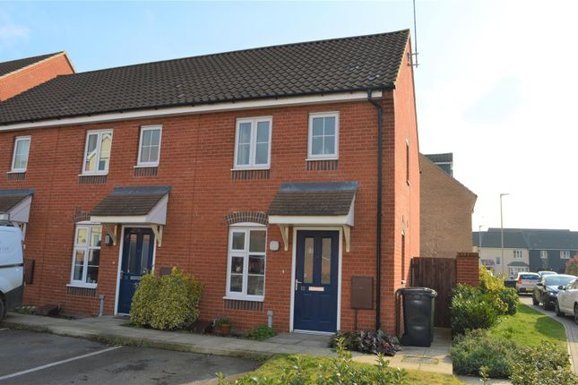 Thumbnail End terrace house for sale in Clement Attlee Way, King's Lynn