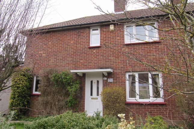 Thumbnail End terrace house to rent in St Patricks Road, Basingstoke