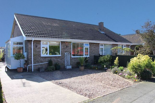Thumbnail Semi-detached bungalow to rent in Abbeydale Crescent, Grantham