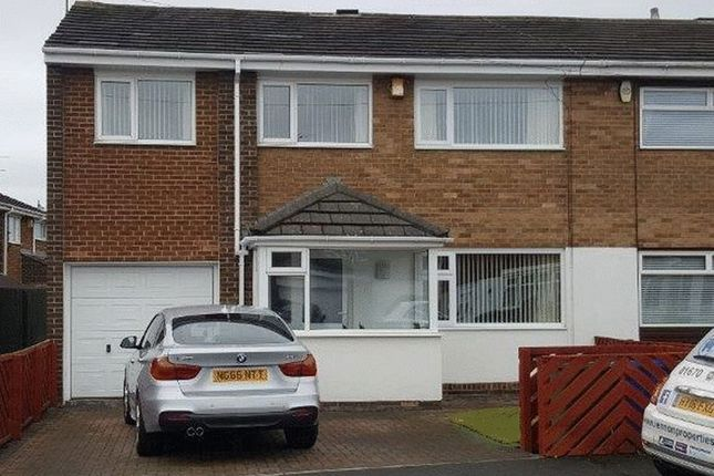 Thumbnail Semi-detached house for sale in Cresswell Drive, Blyth