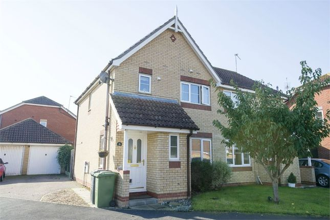 Thumbnail Semi-detached house for sale in Bridge Meadow, Hemsby, Great Yarmouth, Norfolk