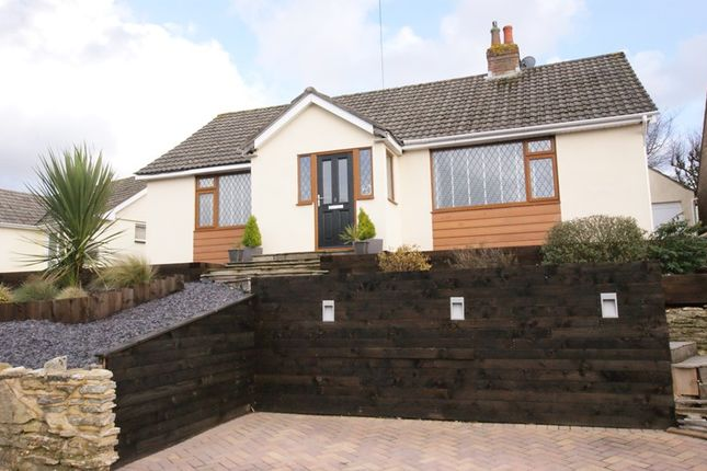 Thumbnail Detached bungalow for sale in Hilltop Road, Corfe Mullen, Wimborne