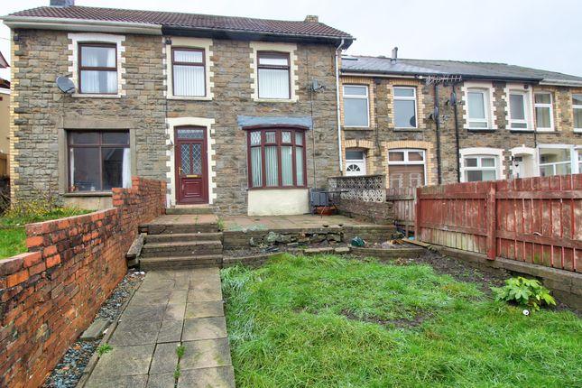 Thumbnail Terraced house for sale in Ashfield Road, Abertillery