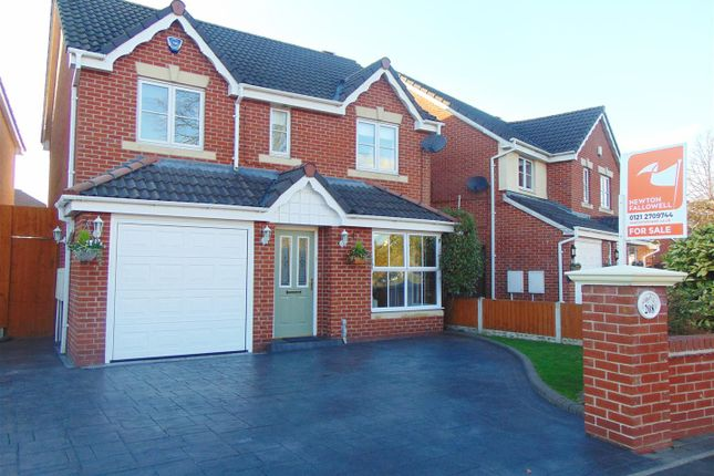 Thumbnail Detached house for sale in Pype Hayes Road, Erdington, Birmingham