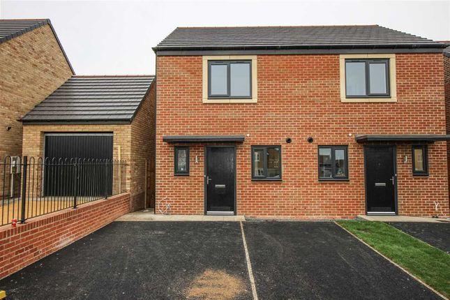 Thumbnail Semi-detached house to rent in Spilsby Crescent, St. Nicholas Manor, Cramlington