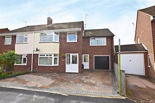 Thumbnail Semi-detached house for sale in Paygrove Lane, Longlevens, Gloucester