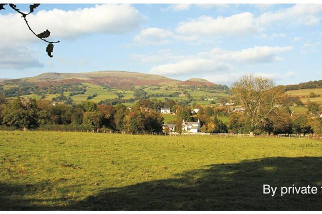 Thumbnail Land for sale in The Legar, Llangattock, Crickhowell