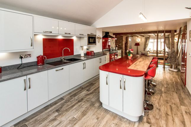 Thumbnail Semi-detached house for sale in Cross Street, Potterhanworth, Lincoln