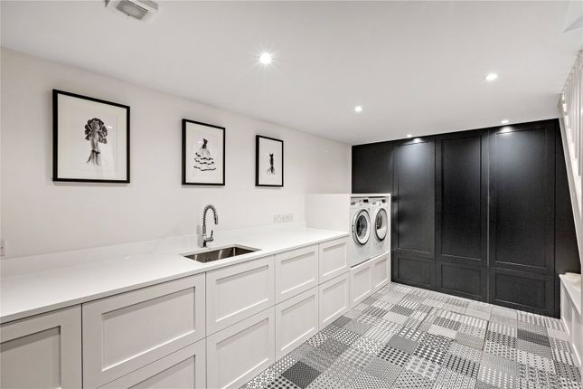 Utility Room of Castelnau, Barnes, London SW13