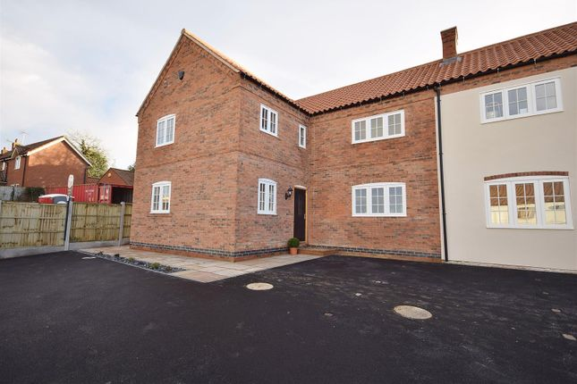 Thumbnail Town house for sale in The Maltings, White Lion Square, Main Street, Blidworth, Nottinghamshire