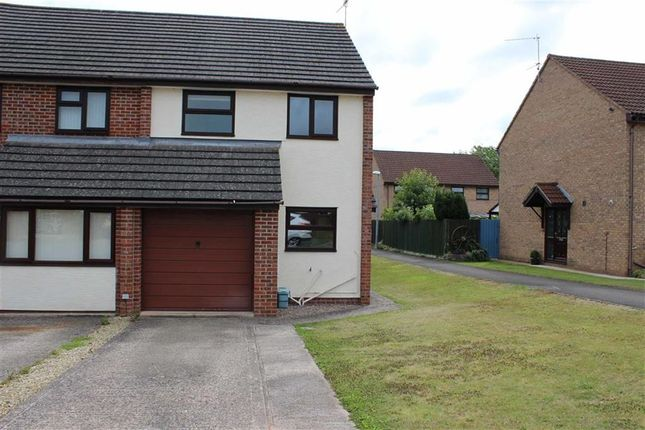 Thumbnail Semi-detached house to rent in Grosmont Close, Monmouth