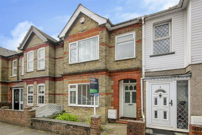 Thumbnail Terraced house for sale in King Edward Road, Brentwood