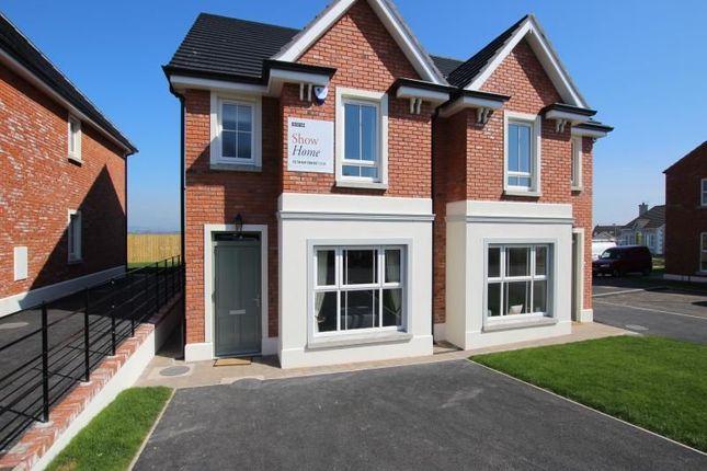 Thumbnail Semi-detached house for sale in The Preston, Ballycraigy Road, Newtownabbey