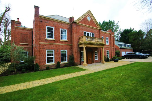Thumbnail Detached house to rent in Christchurch Road, Virginia Water, Surrey