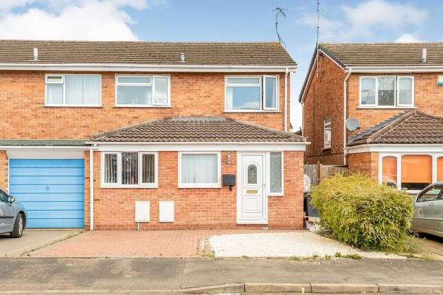 Thumbnail Semi-detached house for sale in Austwick Close, Woodloes Park, Warwick, Warwickshire