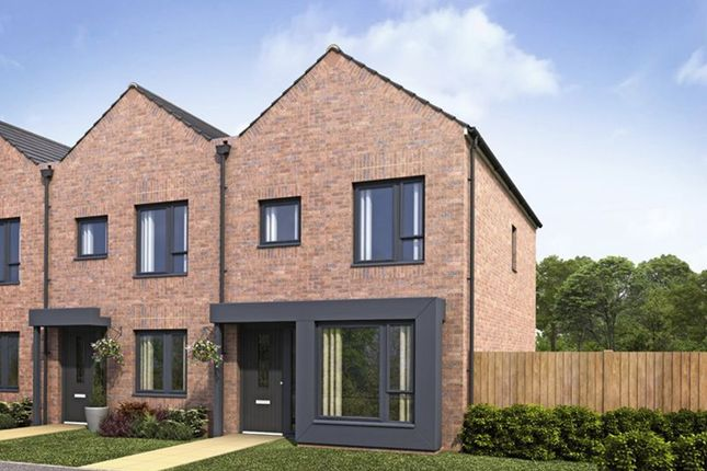 "Thumbnail Semi-detached house for sale in ""Caddington"" at Dunnock Lane, Cottam, Preston"