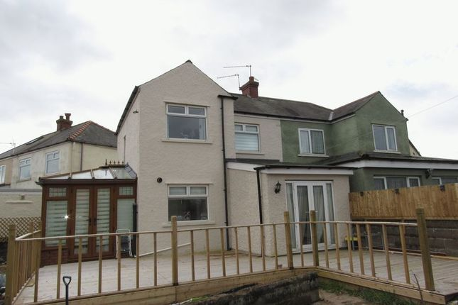Thumbnail Semi-detached house for sale in Greencroft Avenue, Cardiff