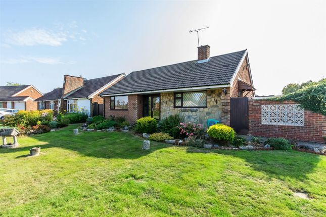 Thumbnail Detached bungalow for sale in Petersfield Drive, Culverstone Green, Kent