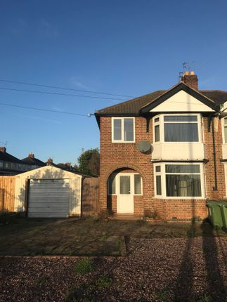 Thumbnail Semi-detached house to rent in Narborough Rod South, Leicester