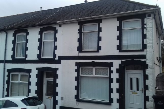 Thumbnail End terrace house to rent in Bishops Place, Ebbwvale