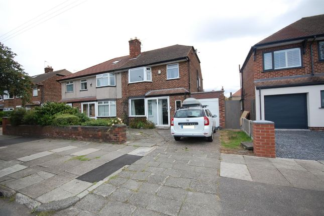 Thumbnail Semi-detached house to rent in Greenleas Road, Wallasey
