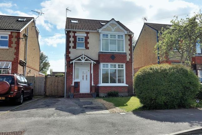 Thumbnail Detached house for sale in Bushy Mead, Widley, Waterlooville