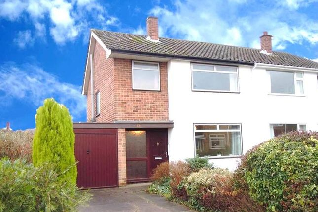 Thumbnail Semi-detached house to rent in Cransley Avenue, Wollaton, Nottingham
