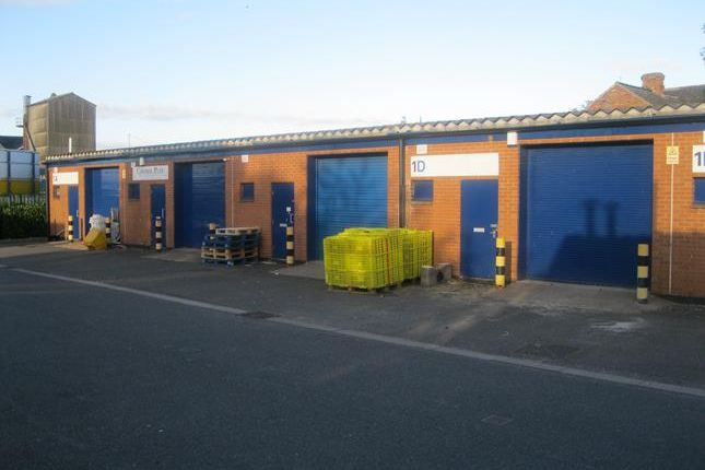 Light industrial to let in Unit 1C, Thornton Street Industrial Estate, Thornton Street, Gainsborough, Lincolnshire