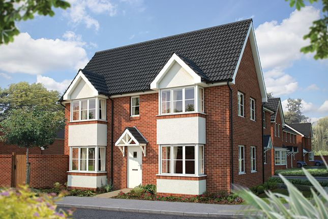 """Thumbnail Semi-detached house for sale in """"The Sheringham"""" at Cleveland Drive, Brockworth, Gloucester"""