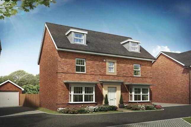 "Thumbnail Detached house for sale in ""Malvern"" at Sagan Rise, Leighton Buzzard"