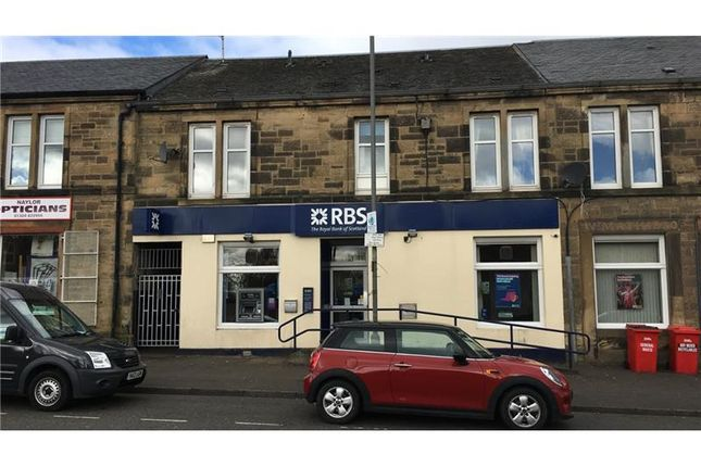 Thumbnail Retail premises for sale in Royal Bank Of Scotland- Former, 32, Glasgow Road, Denny, Falkirk, UK