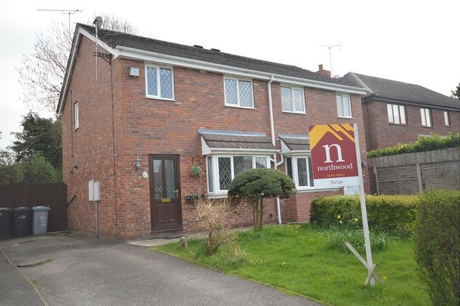 3 bed semi-detached house to rent in Herrick Close, Wistaston, Crewe
