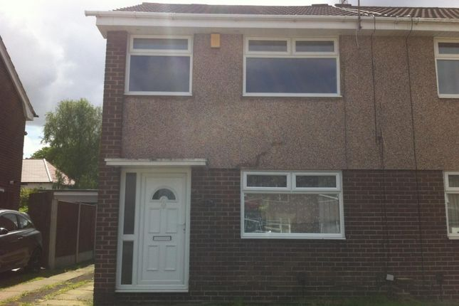 Thumbnail Semi-detached house to rent in Redwood Road, Woolton, Liverpool