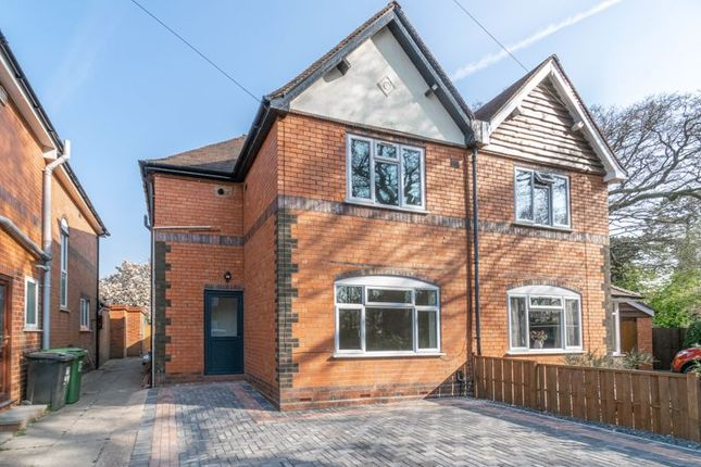 3 bed semi-detached house for sale in Highfield Avenue, Headless Cross, Redditch B97