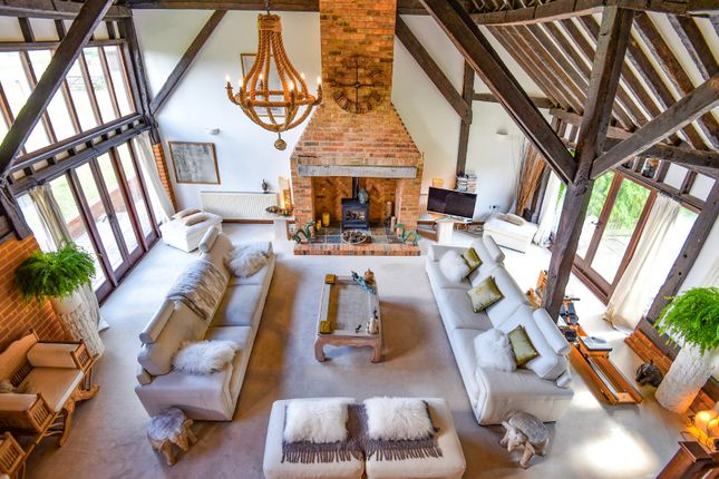 Drawing Room of Henley Park Farm, Pirbright Road, Normandy, Guildford GU3