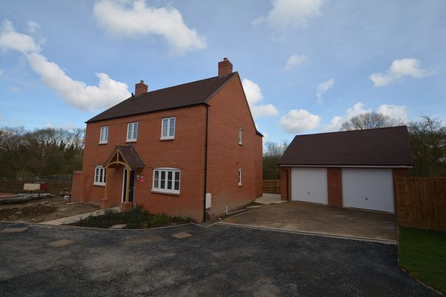 Thumbnail Detached house for sale in Stratford Road, Roade, Northampton