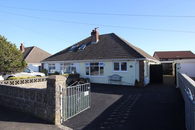 2 bed semi-detached bungalow for sale in St. Johns View, St. Athan, Barry CF62