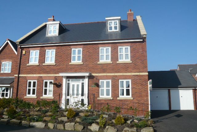 Thumbnail Detached house to rent in Wychwood Village, Weston, Crewe, Cheshire