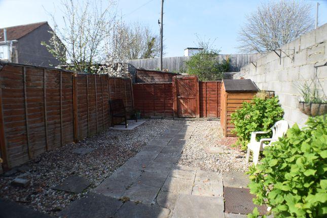 Garden of Cranleigh Gardens, Bridgwater TA6