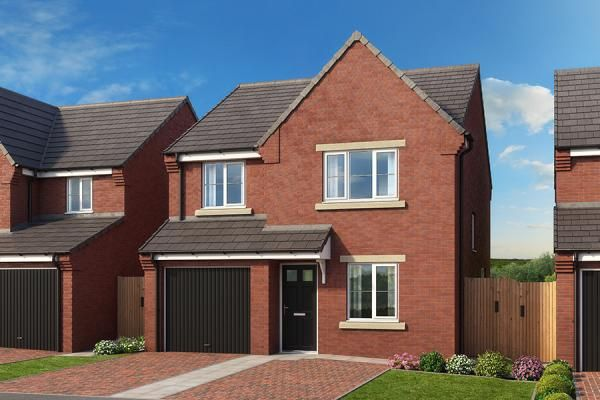 "4 bedroom property for sale in ""The Elm At High Farm"" at Off Trunk Road, Normanby, Middlesbrough"