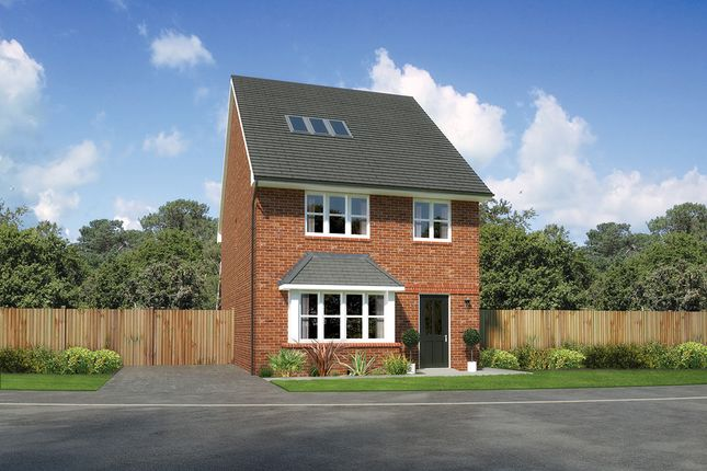 "Thumbnail Detached house for sale in ""Kellingside"" at Close Lane, Alsager, Stoke-On-Trent"