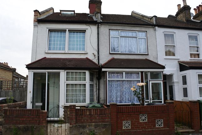 Thumbnail End terrace house for sale in Huxley Road, London